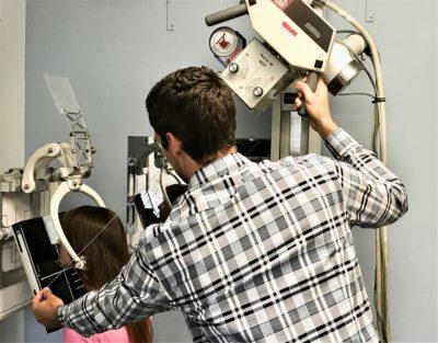 NUCCA X-rays